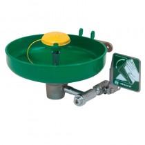 Model 7260B wall mounted, plastic bowl eye/face wash with AXION® MSR eye/face wash head.